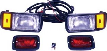 Headlight & taillight kit, 12V. For a Club Car DS